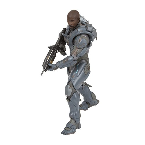 "McFarlane Toys Halo 5: Guardians 10"" Spartan Locke Amazon Exclusive Figure (Un-Helmeted Version)"