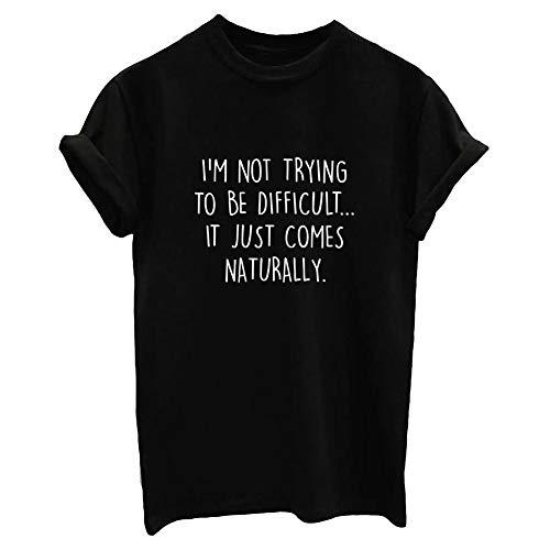 BLACKOO Women Cute T Shirt Juniors Graphic Tops Teen Girls Tee