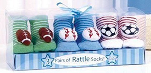GetSet2Save 094134616190 Sports Rattle Socks