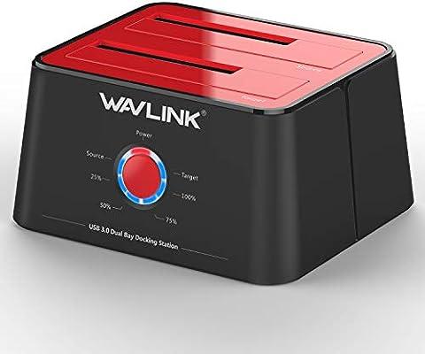 Estación de acoplamiento para disco duro USB 3.0 A SATA, wavlink ...