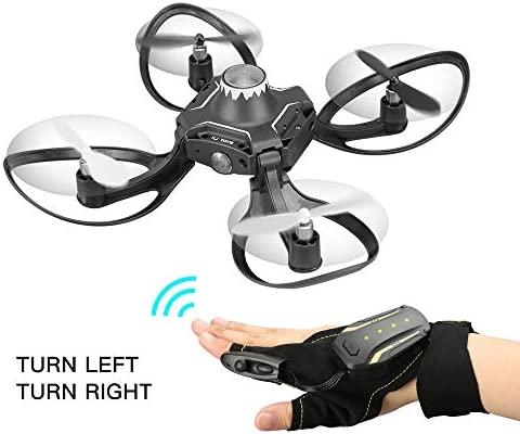 CHUANGQI Drone RC Cuadricóptero con Tapa para Principiantes ...