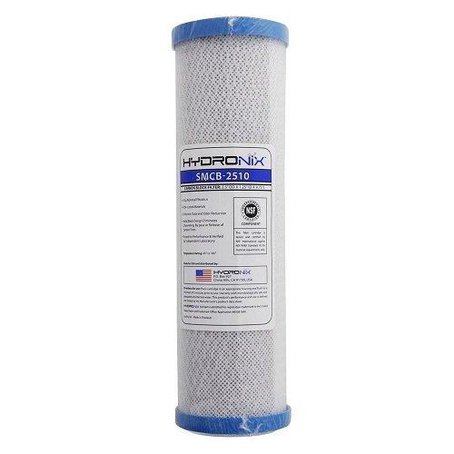 Hydronix SMCB-2510 NSF Carbon Block Filter 2.5'' OD X 9 7/8'' Length, 0.5 Micron by Hydronix