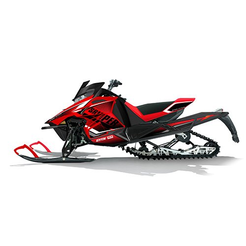 Yamaha New Oem Sr Viper Snowmobile Red Race Graphic Wrap