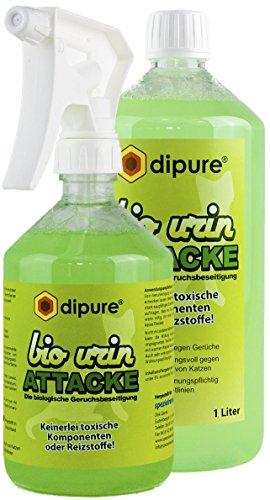 Bio Urin Attacke gegen Katzenurin 1500 ml Spar-Set