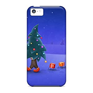 Premium [rgTcBMC7747QmZjI]walking Christmas Tree Case For Iphone 5c- Eco-friendly Packaging