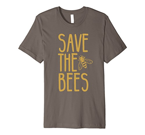 Mens Save The Bees T-shirt | Beekeeper Graphic Tee XL - Save The Apparel Bees