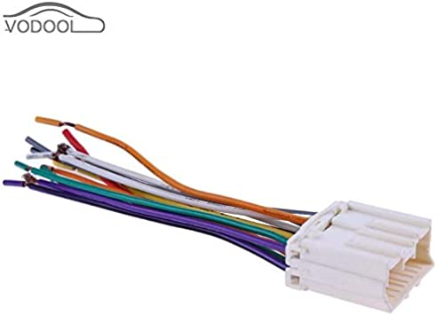 [SCHEMATICS_48DE]  Amazon.com: Car Stereo CD Player Wiring Harness Radio Wire Plug 13Pin  Terminal Connector Cable for Mitsubishi for JOYEAR for Souest-Lioncel: Home  Improvement | Cd Player Wiring Harness |  | Amazon.com