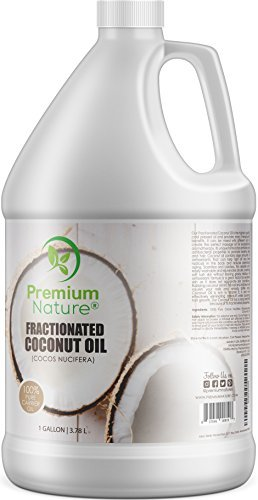 Fractionated Coconut Oil Massage Oils - Liquid MCT Natural & Pure Body Moisturizer Cold Pressed Carrier Massage Oil for...