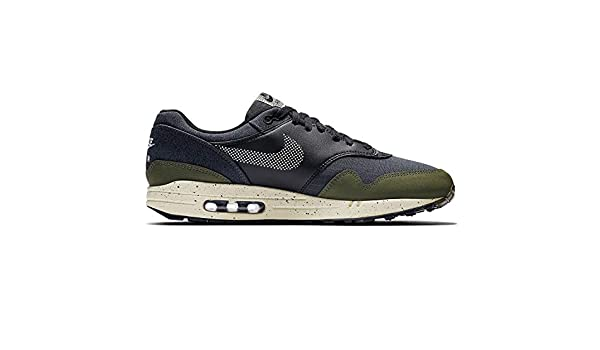 c525331748 Amazon.com | Nike Mens Air Max 1 SE Running Shoes Medium Olive/Light Cream/Black  AO1021-200 Size 9.5 | Shoes