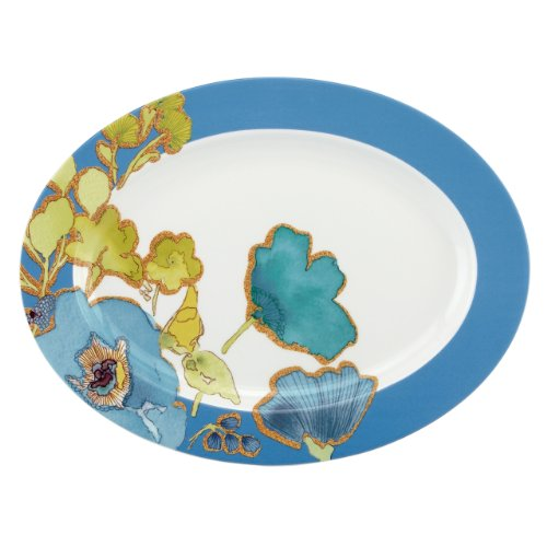 Lenox Floral Fusion Blue 5-Piece Completer Set