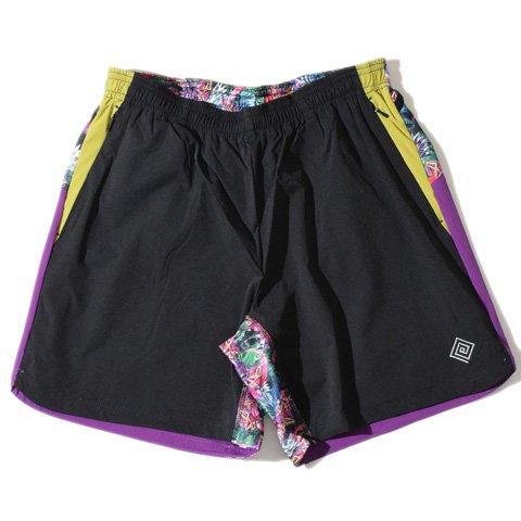 (エルドレッソ) ELDORESO Fourway Trail Pants B07BQ9C81F  ブラック XL