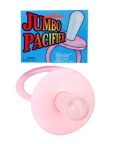 Jumbo Pacifier - Pink Accessory