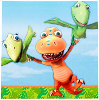 Dinosaur Train - Lunch Napkins (16) Party Accessory]()