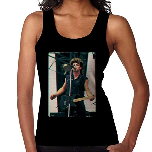 TV Times Bono of U2 Guitar 3D Effect Women's Vest Black for sale  Delivered anywhere in USA