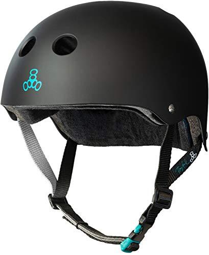 Buy Triple 8 Tony Hawk Signature Model The Certified Sweatsaver Helmet for Skateboarding, BMX, Rolle...