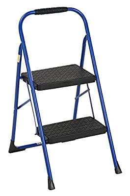 Cosco 2 Step Big Step Folding Step Stool with Rubber Hand Grip