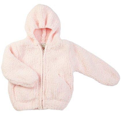 Angel Dear Baby Girls' Fleece Zip Hoodie - Pretty Pink - 18 Months by Angel Dear
