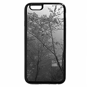 iPhone 6S Case, iPhone 6 Case (Black & White) - Walking in the misty road