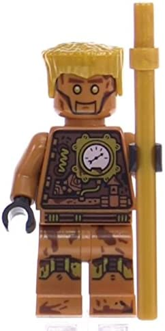 LEGO Ninjago Minifigure - Echo Zane Nindroid with Gold Staff (70594)