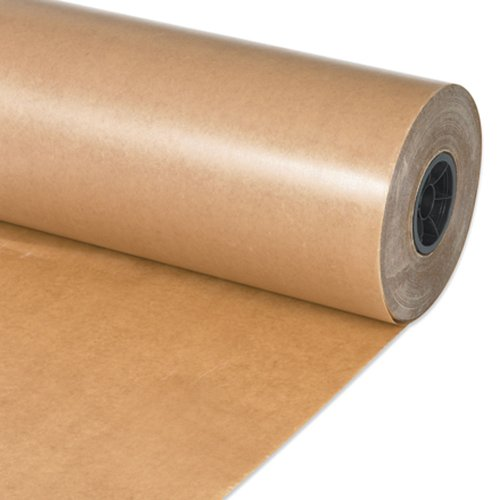 Aviditi WP2430 Non-Abrasive Waxed Paper Roll, 1500' Length x 24'' Width, Kraft by Aviditi