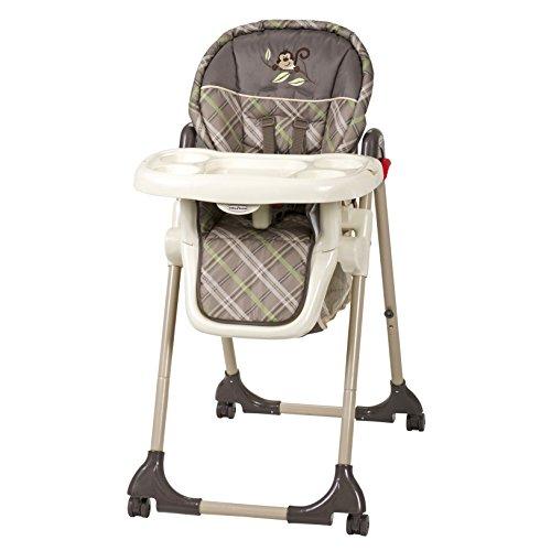 Baby Trend High Chair, Monkey Plaid - Plaid High Chair Cover