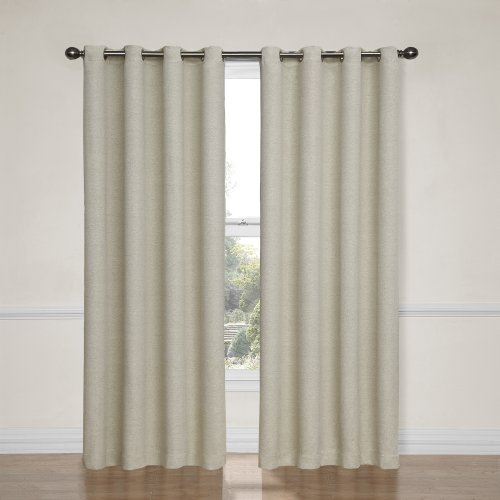Eclipse Blackout Curtains for Bedroom-Bobbi37 x 84