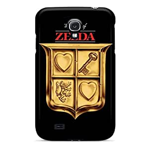 Samsung Galaxy S4 NHy14703OrvC Custom Vivid The Legend Of Zelda Image Bumper Hard Cell-phone Cases -AlainTanielian