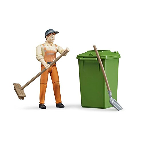 - Bruder Figure-Set Waste Disposal Vehicles - Toys