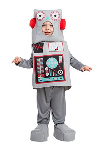Boys Toy Robot Costume 3T - Make A Robot Costume