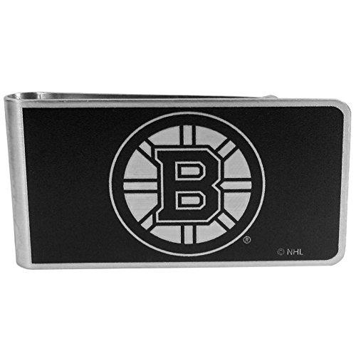 Siskiyou NHL Boston Bruins Black & Steel Money Clip Boston Bruins Money Clip
