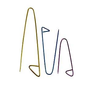 Juego de 3 sujeta puntos de Aluminio por Curtzy TM
