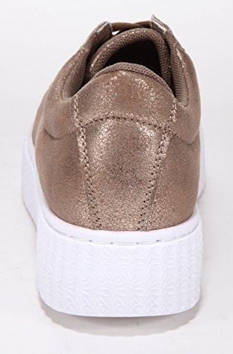 XTI Sneaker bronze