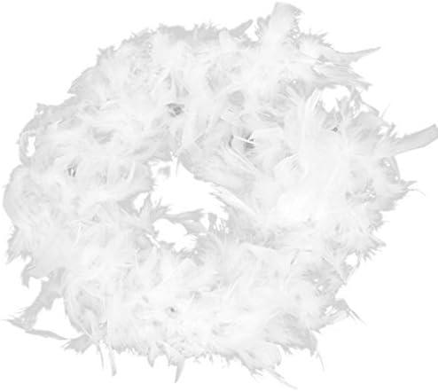 Koedu Plumas de boa para decoraci/ón de sombrero disfraz apliques de costura 2 m
