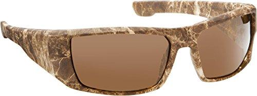 Fisherman Eyewear Bayou Sunglasses, Brown Terrain Rubberized Frame, - Eyewear Sunglasses Fisherman