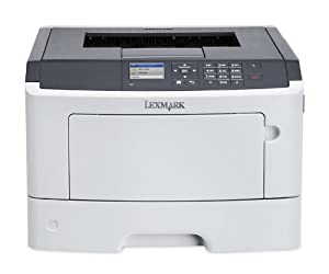Lexmark MS517dn Compact Laser Printer, Monochrome, Networking, Duplex Printing