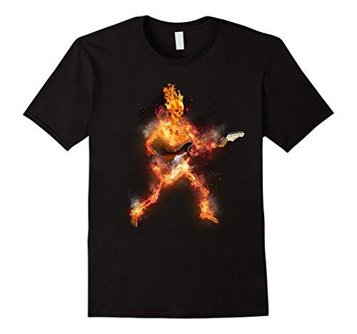 Flaming Skeleton Guitarist ()