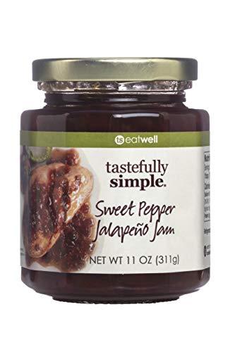 - Tastefully Simple Sweet Pepper Jalapeno Jam