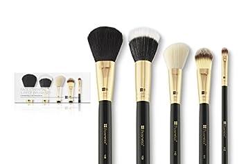 Face Essential 5 Teiliges Pinselset Von Bh Cosmetics Amazonde