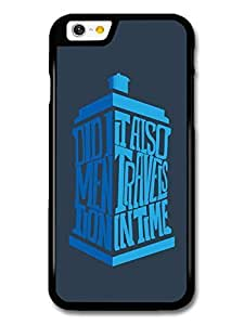 AMAF ? Accessories Doctor Who Tardis Minimalist TV Series Quote case for iPhone 6 wangjiang maoyi by lolosakes