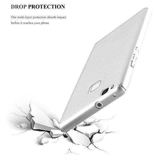 Cadorabo - Hard Cover Protección para >                                              Huawei ASCEND P9 LITE                                              < con Efecto Metálico Mate