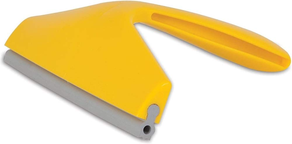 JW GripSoft Pet Hair Magnet Multi-Surface Pet Hair Remover Gray/Yellow One Size