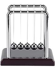 Newton's Cradle Balance Ball, Science Newton Balanced Balls met Balance Swinging Magnet Balls Slinger Metalen Bal Bureau Decoratie
