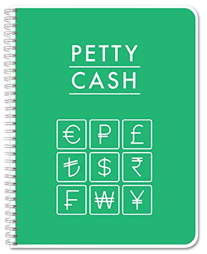 BookFactory Petty Cash Log Book Notebook Journal
