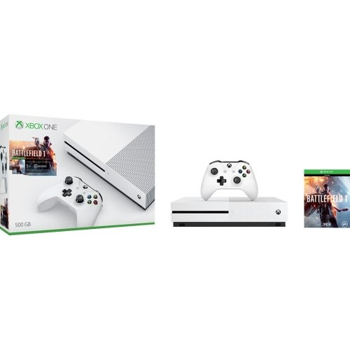 Microsoft Xbox One S 500GB Console - Battlefield 1 Bundle...