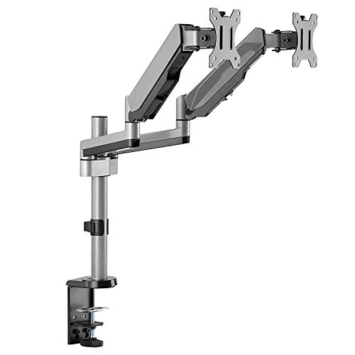 AVLT-Power Dual Monitor Mount Stand - Extra 24