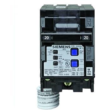 siemens qsa2020spd whole house surge protection with two 20 amp 20 -Volt Fuse automotive fuse box generates 20 amps