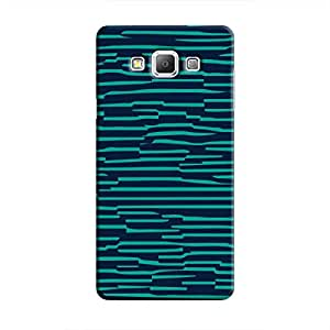 Cover It Up - Dark Teal Wood Galaxy A8Hard Case