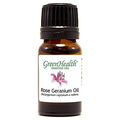 Rose Geranium Essential Oil (100% Pure & Uncut) - GreenHealth by WFMED
