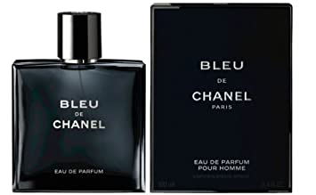 029be1652e7 C H A N E L BLEU DE C H A N E L Eau De Parfum Spray FOR MEN 3.4 Oz   100 ml
