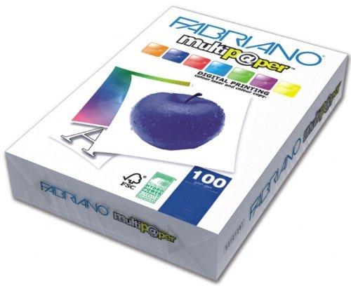 Creative World Of Crafts - Risma di carta da 100 g/mq, formato A3, adatta a diversi usi, colore bianco Creative World Of Crafts Ltd 53229742